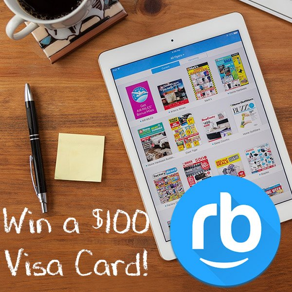 Win a $100 Visa Gift Card (CAN, 1/31)