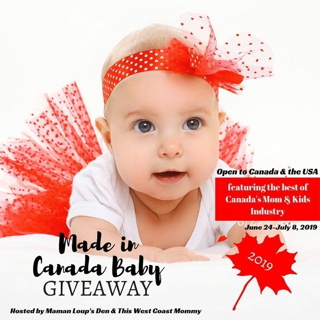 Made in Canada Baby 2019 Giveaway: $1500 in Prizes for Mom
